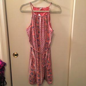GAP floral swing dress